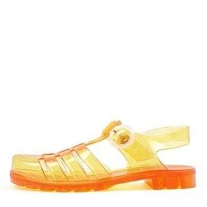 NWT American Apparel Seaside Jelly Flat Sandal 5